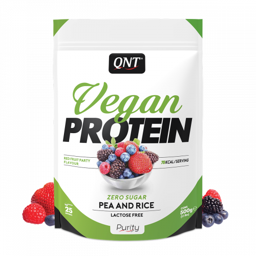 Vegan Protein ROOD FRUIT 500 g