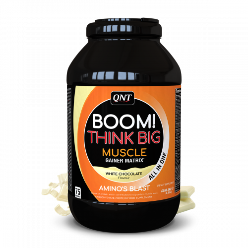 BOOM Muscle Gainer WITTE...