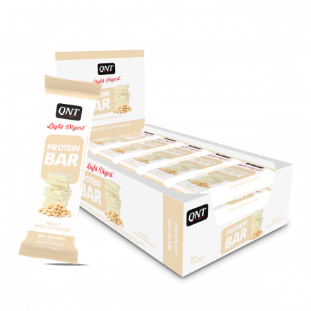 Protein Bar Peanut/White Chocolate 15 x 55 g