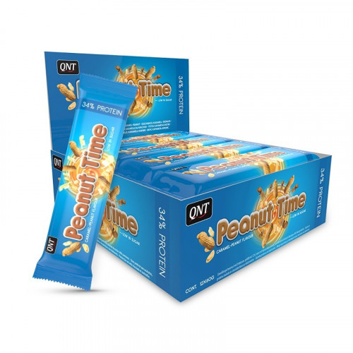 Peanut Time Barres 12 x 60g