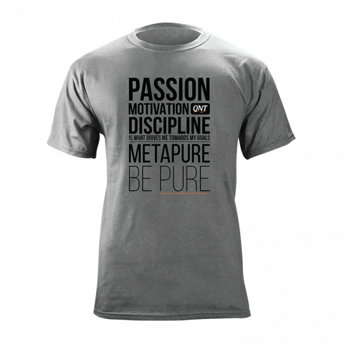 METAPURE T-shirt Grey XXL