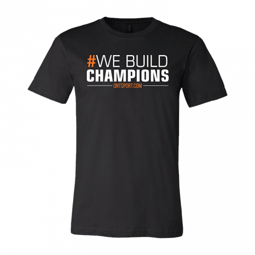"QNT T-shirt ""We build..."