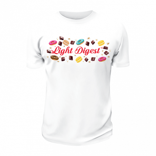 T-Shirt Light Digest Quadri...
