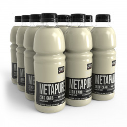 Metapure Whey Protein Isolate Drink Lemon Lime 12 x 500 ml