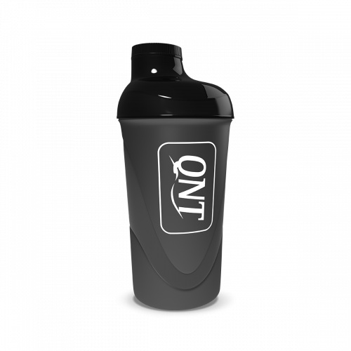 QNT Plastic Shaker 600ml Black