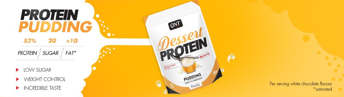 pudding protéinée