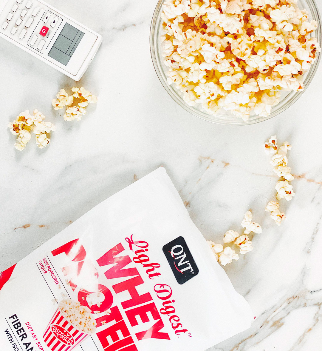 Light Digest Protein Whey Popcorn