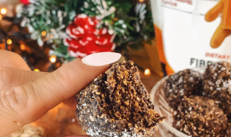 Christmas Protein truffles