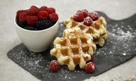 Delicious protein waffles