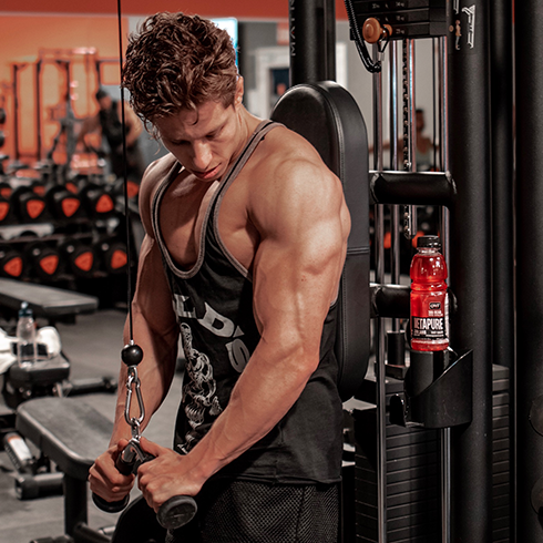 The best exercises to gain triceps mass